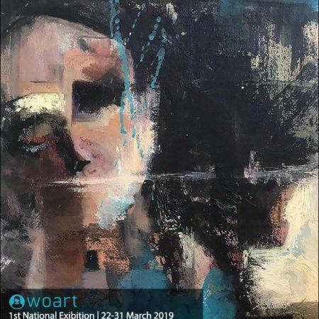نام هنرمند: ارکیده هدف جو | عنوان اثر: زن ایرانی | تکنیک: آکریلیک | ابعاد: 40در50سانتیمتر